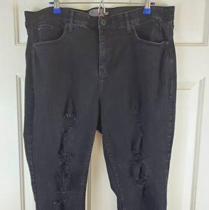 Torrid Distressed Skinny Jeans